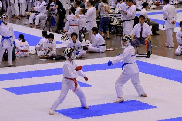全日本少年少女空手道選手権02