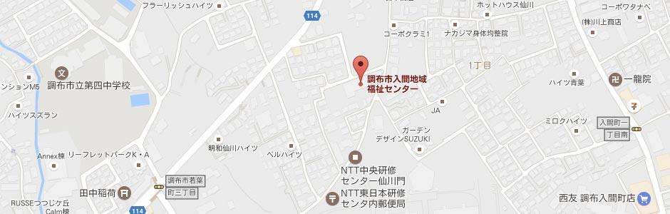 仙川入間道場水曜地図 | 尚心派糸東流空手道 拳心会