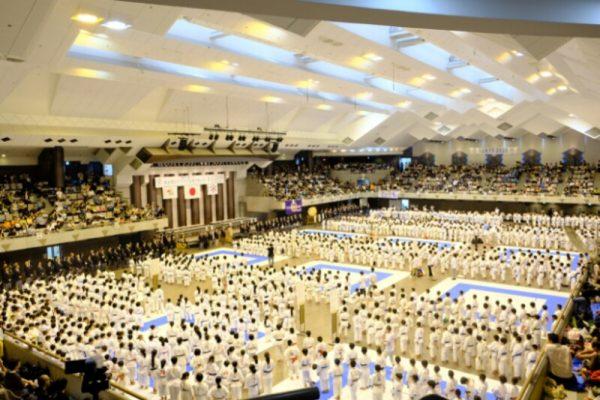 東京都小学生空手道選手権大会 開会式