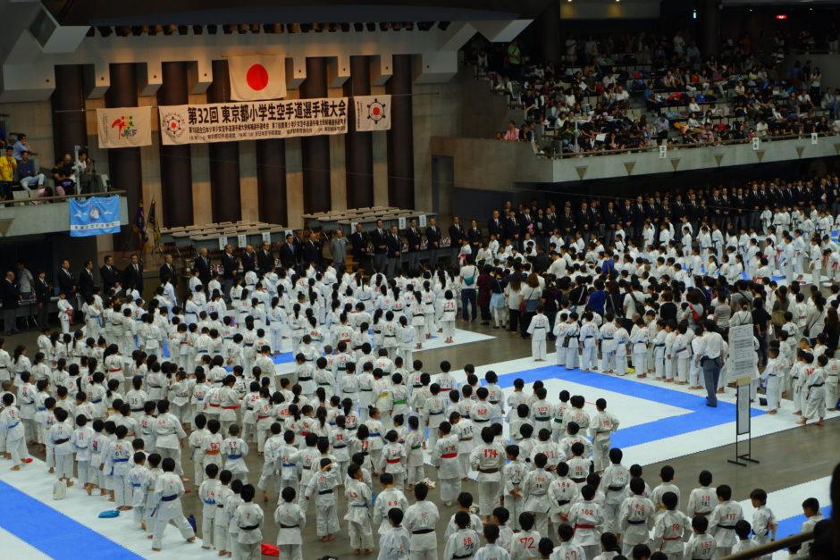 2018年5月27日東京都空手道選手権小学生大会01
